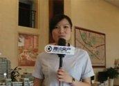 港龙紫荆城工作人员讲解沙盘