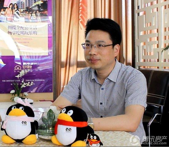 专访牡丹祥龙湾项目总经理 郑书华