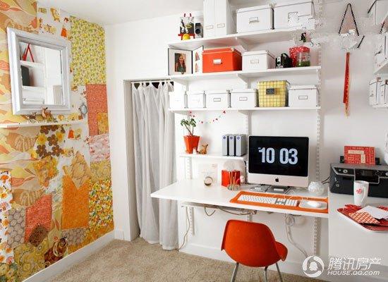 彩色背景墙 编辑点评:彩色背景墙使整个办公空间瞬间图片