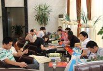 网友在青枫国际查看户型图及宣传单页