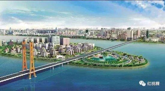 潮州大桥历时四年工程建设收尾 预计元旦将通车