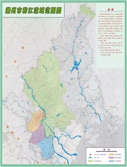 潮州人民政府关于划定潮州市韩江流域具体范围的公告
