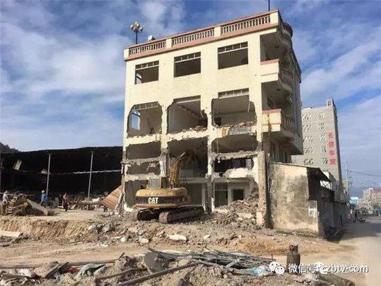 潮州市外环西路古巷片区的拆迁工作已全面完成