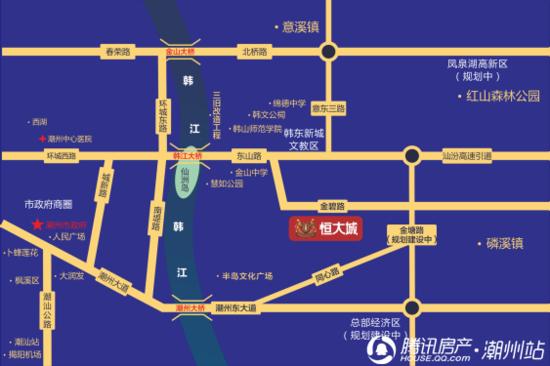 """感恩大回馈!揭秘潮州恒大城珑樾新品之""""交通篇"""""""