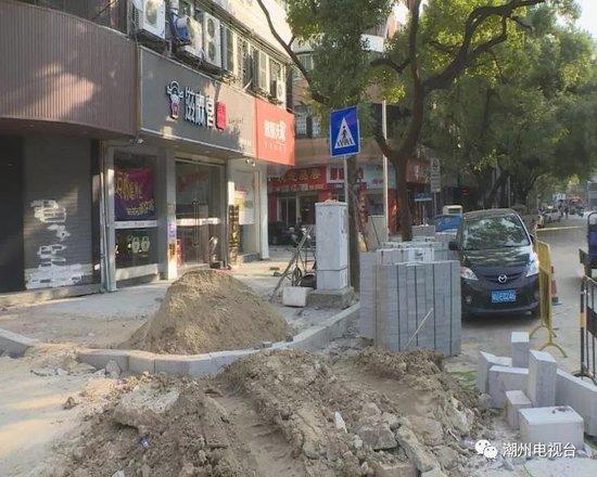 潮州市区这两条道路改进施工方式 缓解通行压力