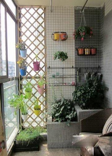享受温馨角落 15种小阳台华丽变身