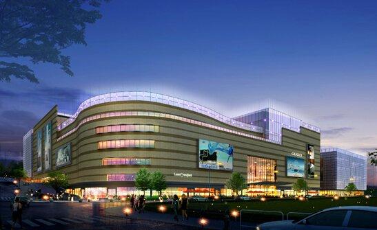 红星·美凯龙全球家居生活广场夜景图-有钱 就这么任性 郴州红星 美凯图片
