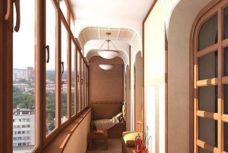 狭长型阳台个性设计