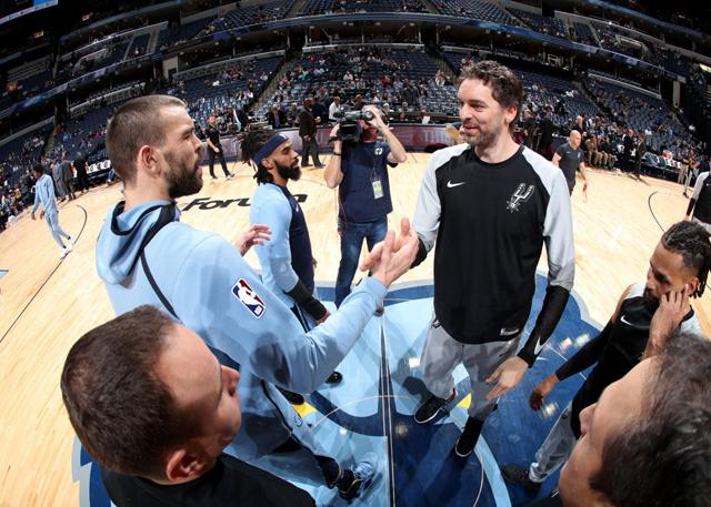 大加索尔:很高兴弟弟有机会去争夺总冠军 NBA新闻