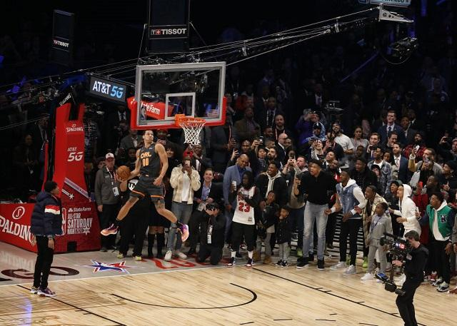 戈登:不知谁给了9分 不会再参加扣篮大赛