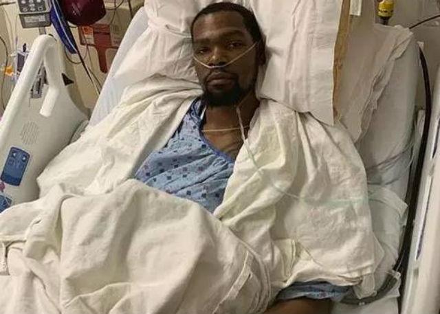 杜兰特遭遇跟腱断裂 已成功接受手术