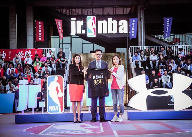 UNDER ARMOUR (安德玛) 成为Jr. NBA在中国的创始合作伙伴和鞋服提供商