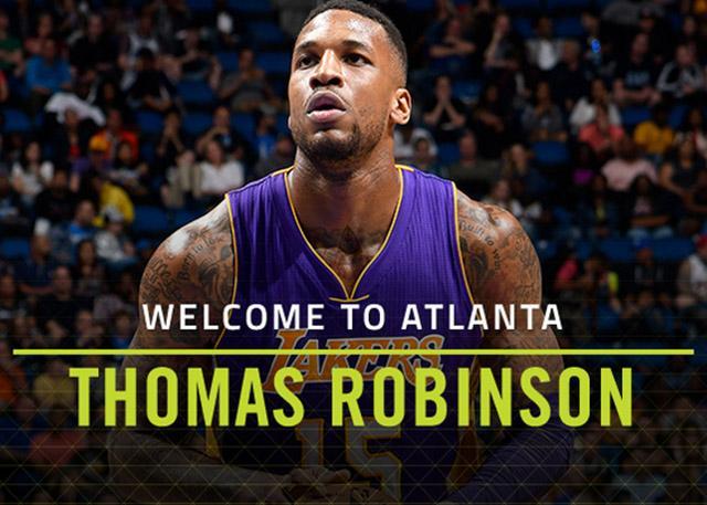 官宣:老鹰签下自由球员托马斯-罗宾逊
