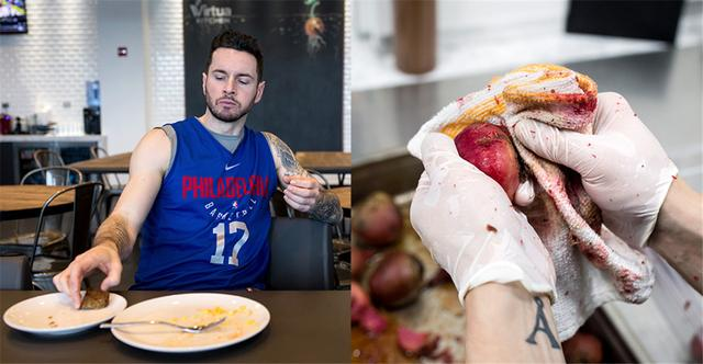 NBA幕后:唇齿留香 走进76人的专业厨房