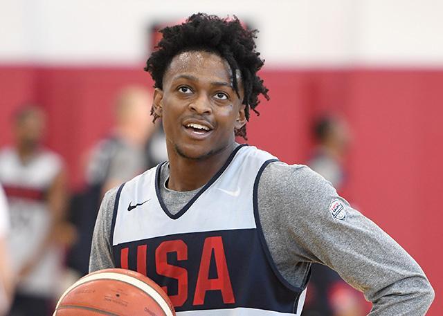 达龙-福克斯将退出美国男篮 专注备战新赛季