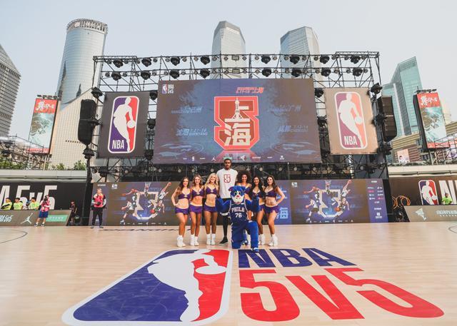 NBA 5v5   精英之战完美收官 UNINE、SNH48、艾热火热开唱