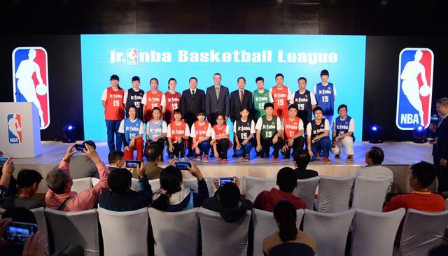北京市教委、北京市体育局及NBA中国共同启动北京中小学篮球冠军赛 - Jr. NBA高中组