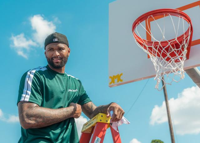 考辛斯掏出25万美金 为家乡捐建篮球场