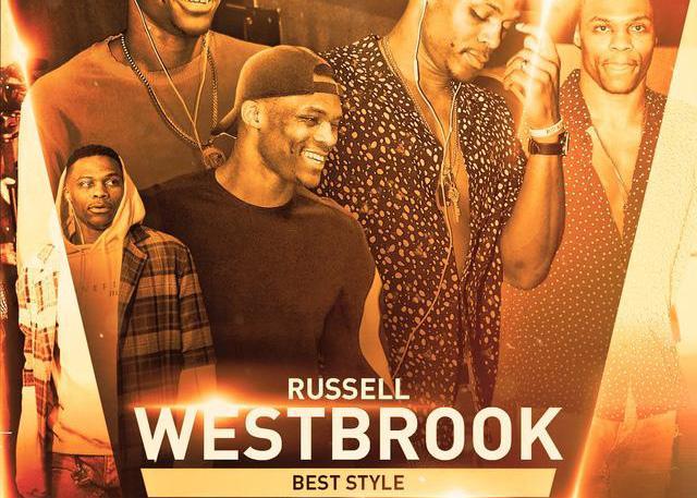 NBA最佳着装奖:威斯布鲁克