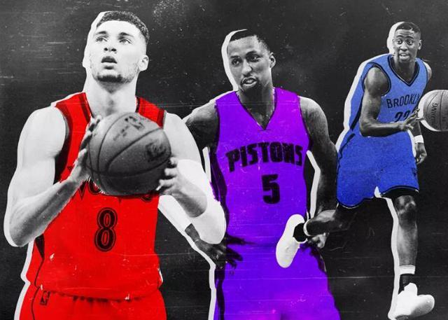 对比拉文/波普/拉维特 NBA分卫正走向3D化