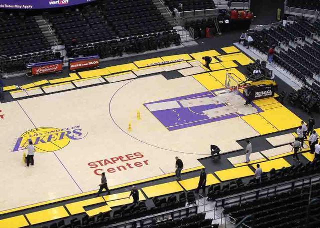 洛杉矶湖人队初定于5月16日开放训练场馆