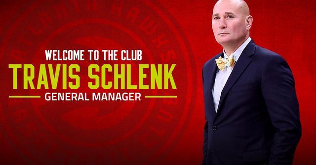 老鹰官宣新任总经理兼篮球运营总裁特拉维斯-施伦克