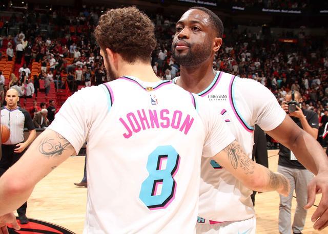 泰勒-约翰逊和韦德缺席投篮训练 但仍将会出战