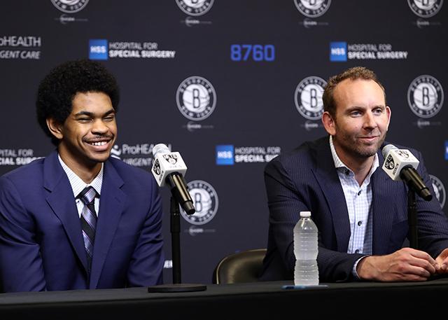 篮网GM:艾伦和小乔丹将竞争下赛季的首发
