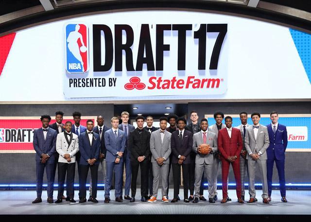 2017年NBA选秀结果:富尔茨状元