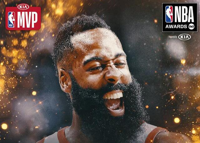 NBA颁奖典礼各奖项盘点 哈登终获常规赛MVP