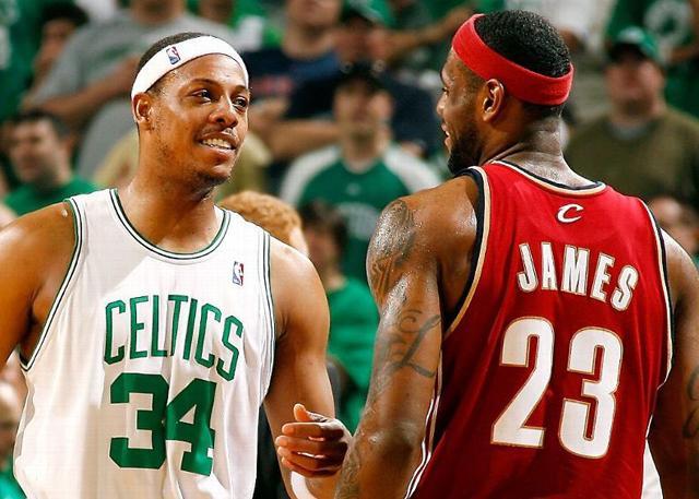 ESPN盘点:皮尔斯绿军生涯五大抗詹比赛