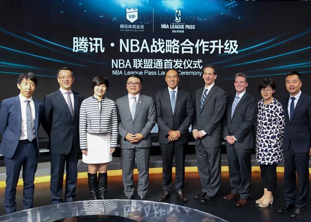 "NBA中国和腾讯在中国首次推出""NBA联盟通"""