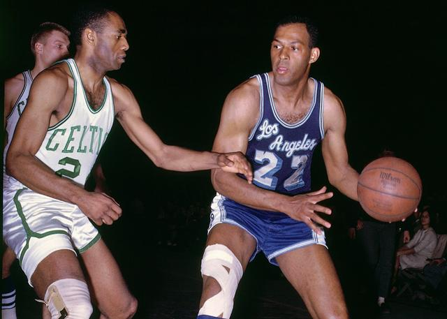 NBA50大明星:埃尔金-贝勒(Elgin Baylor)