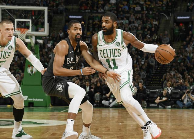 全队八人上双 欧文:这样的篮球很棒
