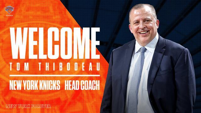 官宣:汤姆-锡伯杜正式成为尼克斯主教练