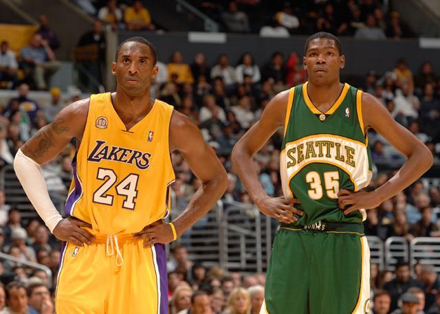 杜兰特:科比就是我的篮球之神