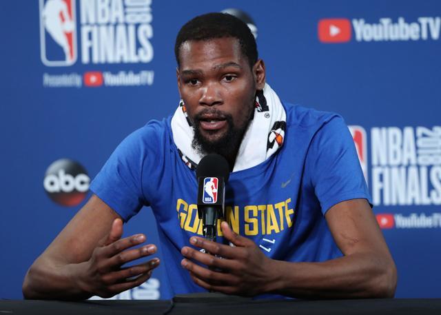 杜兰特:G1打得有些冒失 需创造更好投篮机会