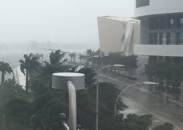 又见飓风 艾玛使热火训练馆轻微受损