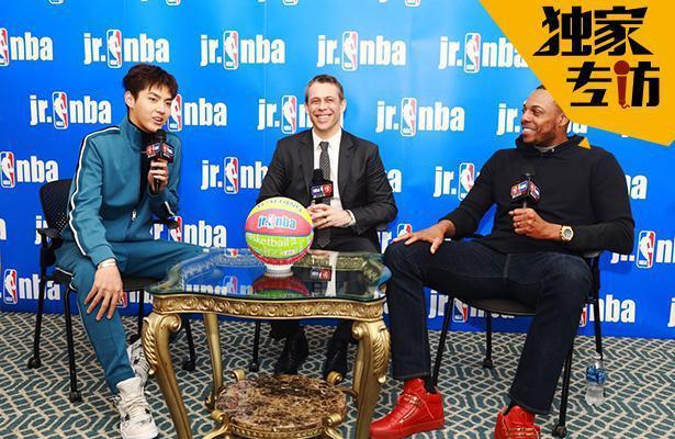专访Jr. NBA中国明星导师 吴亦凡揭秘如何结缘篮球