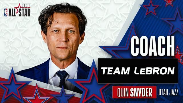 官宣:斯奈德出任全明星勒布朗队的主教练