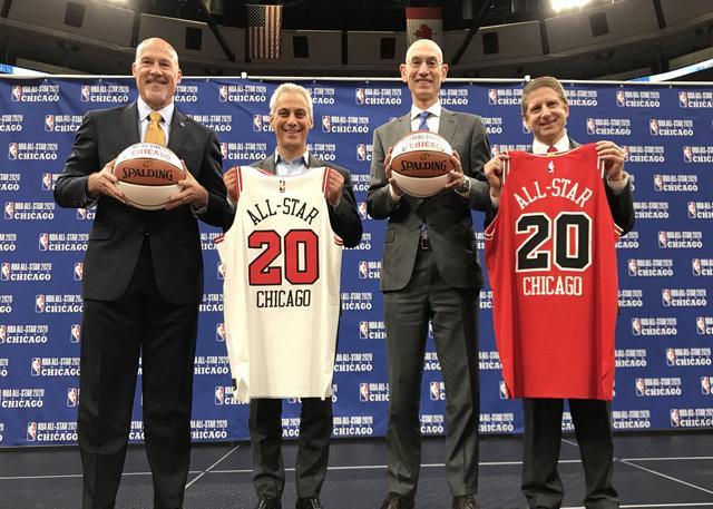 官宣:芝加哥将举办2020年NBA全明星周末