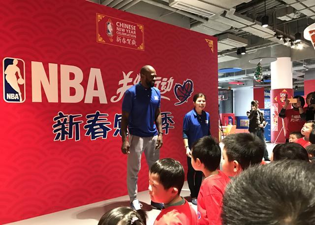 两届扣篮王到访 揭开第六届NBA新春贺岁大幕