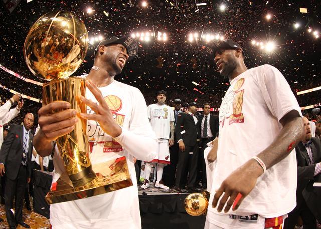 数读韦德16年NBA生涯:三冠超巨 人生赢家