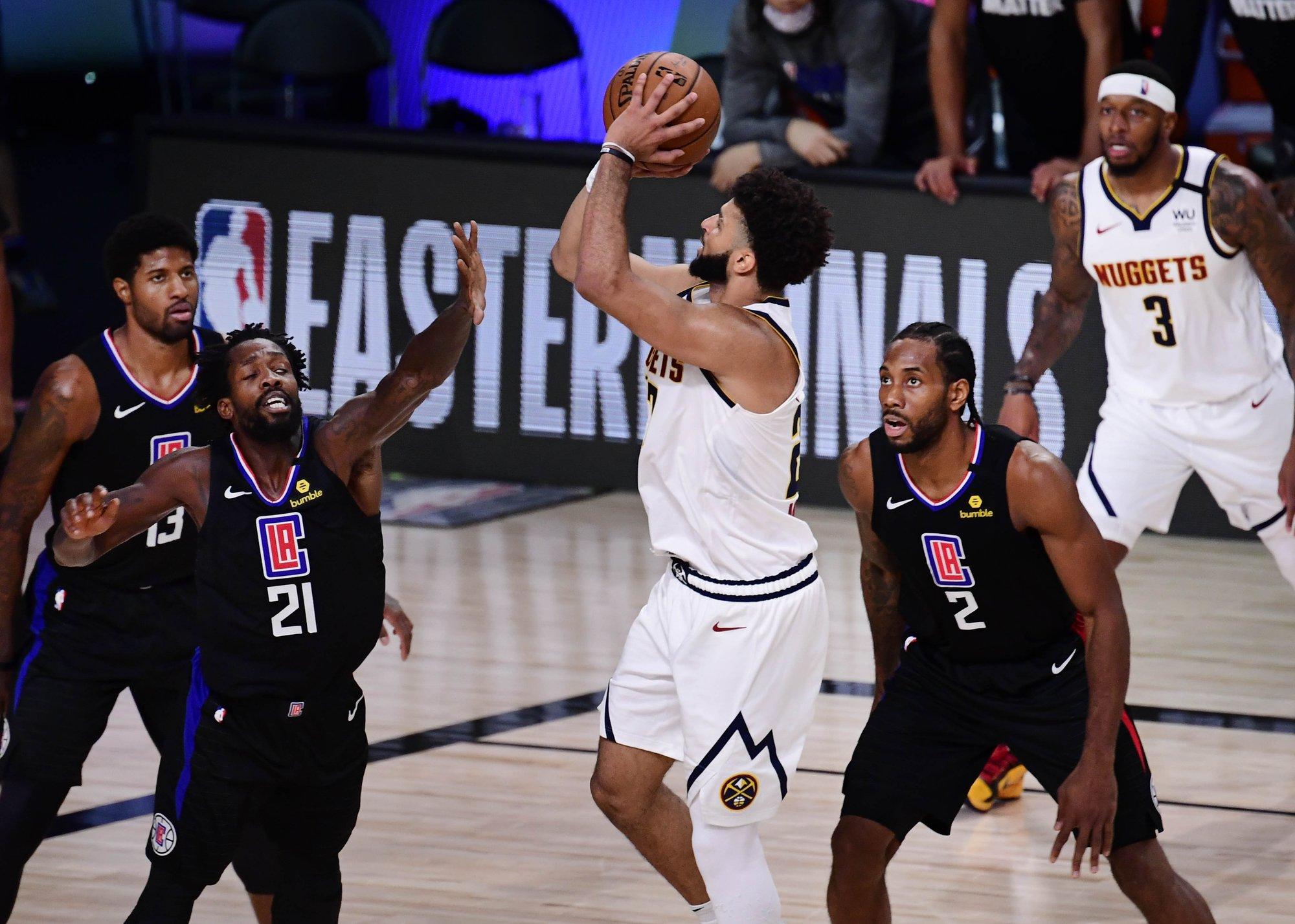 殺神模式!Murray爆砍40+5比可愛喬治加起來還多,6顆三分擊沉宇宙飛艇!(影)-黑特籃球-NBA新聞影音圖片分享社區