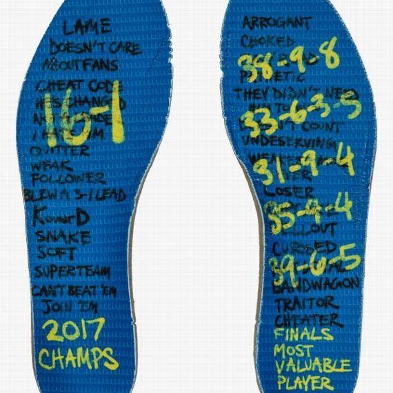 KD新鞋发布 鞋底记录了杜兰特过去的一年