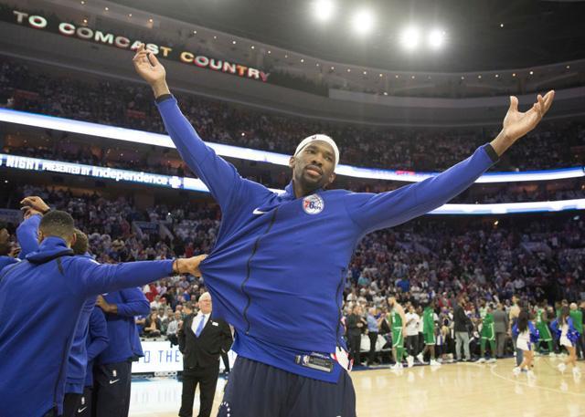 恩比德:缺少背靠背的经历让我不像NBA球员