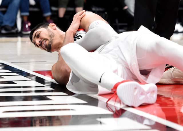 左肩伤势严重 坎特能否赶上西部半决赛未知