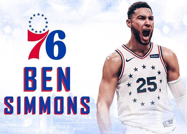 官宣:费城76人正式与本-西蒙斯完成续约