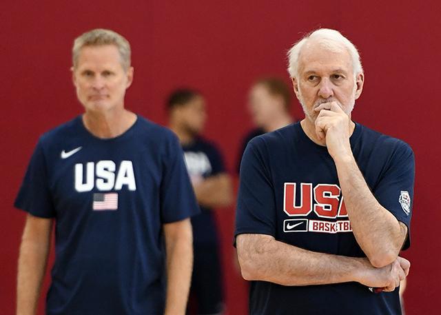 圆桌会议:巨星缺席 美国男篮谁首发?