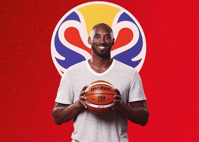 科比-布莱恩特成为2019年国际篮联篮球世界杯全球大使